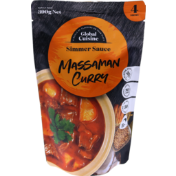 Photo of Diron Global Cuisine Simmer Sauce Massaman Curry 390g