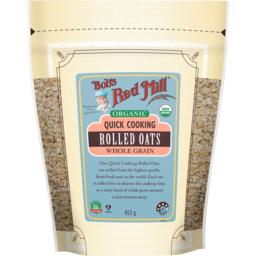 Photo of Bob's Red Mill Cereal - Rolled Oats (Quick Cook Wholegrain)