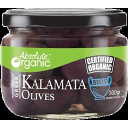Photo of Absolute Organics Kalamata Olives 300g