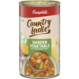 Photo of Campbell's Country Ladle Soup Garden Vegetable With Wholegrain Barley 500g