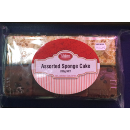 Photo of Baker's Collection Assorted Sponge Cake 200gm