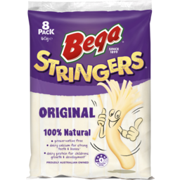Photo of Bega Stringers Original Cheese 8 Pack