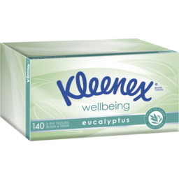 Photo of Kleenex Eucalyptus Facial Tissues 140 Pack