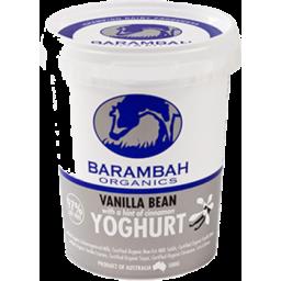 Photo of Barambah Yoghurt Vanilla Bean Cinnamon 500g