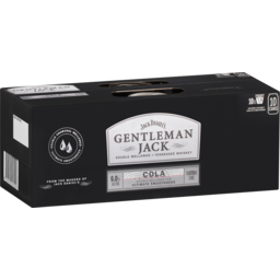 Photo of Jack Daniel Gentleman & Cola Can
