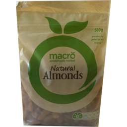 Photo of Macro Australian Almonds 500g