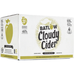 Photo of Batlow Cloudy Apple Cider Stubbies