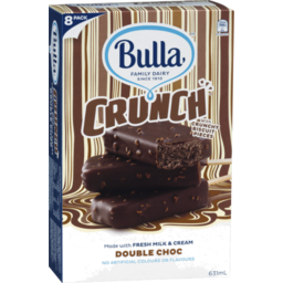 Photo of Bulla Crunch Double Choc 8pk