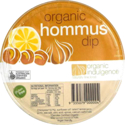 Photo of Organic Indulgence Hommus Dip 200g