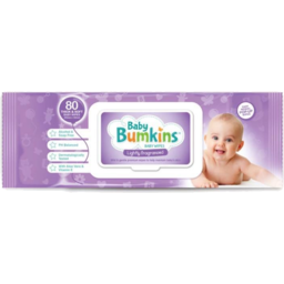 Photo of Baby Bumkins Baby Wipe Unscented Value Pack 3x80s
