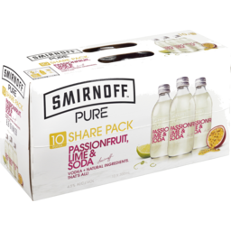 Photo of Smirnoff Pure Pl&S Bt 10x300ml