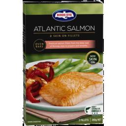 Photo of Birds Eye Atlantic Salmon Natural 2pk 260gm