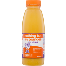 Photo of Nudie Nothing But Orange Juice With Pulp 400ml