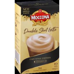 Photo of Moccona Sachets Double S Latte 10pk