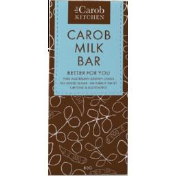 Photo of The Carob Kitchen Caffeine & Gluten Free Carob Milk Bar 80g