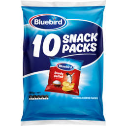 Photo of Bluebird Multipack Original Chips Salted 10 Pack