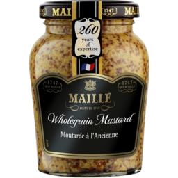 Photo of Maille Old Style Grain Mustard 210gm