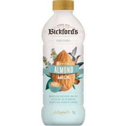 Photo of Bickfords Vegan Friendly Barista Almond Milk 1l
