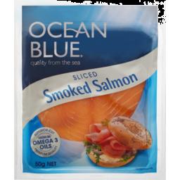 Photo of Ocean Blue Sliced Smoked Salmon 50g