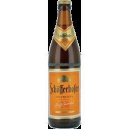 Photo of Schofferhofer Hefeweizen 500ml 6 Pack