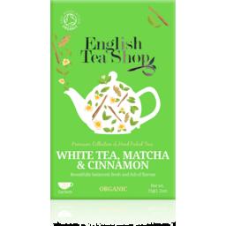 Photo of English Tea Shop White Tea Matcha & Cinnamon 35g