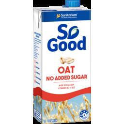 Photo of Sanitarium So Good Dairy Substitute Oat No Added Sugar Uht 1l