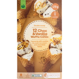 Photo of WW Cone Waffle Vanilla 12 Pack