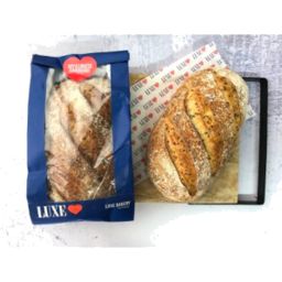 Photo of Luxe Soy & Linseed Sourdough Batard (Unsliced)
