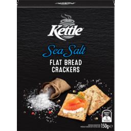 Photo of Kettle Sea Salt Flat Bread Crackers 150g