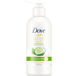 Photo of Dove Care & Protect Refreshing Care Cucumber & Green Tea Scent Hand Wash 330ml