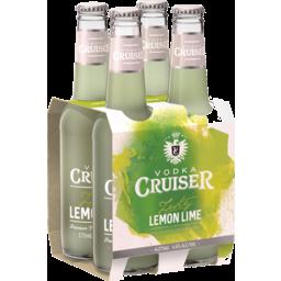 Photo of Vodka Cruiser Lemon-Lime 4.6% 275ml 4 Pack