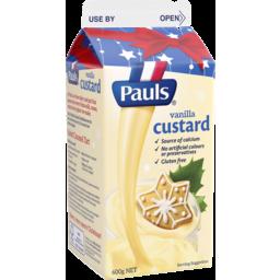 Photo of Pauls Custard Vanilla 600g