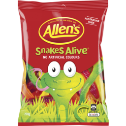 Photo of Allen's Snakes Alive 200gm