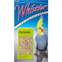 Photo of Whistler Cockatiel Bird Food 2kg