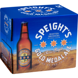 Photo of Speight's Gold Medal Ale 330ml Bottles 12 Pack