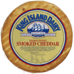 Photo of King Island Stokes Point Smoked Cheddar