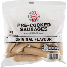 Photo of WW Pre-Cooked Sausages Original 1kg
