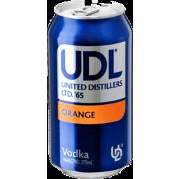 Photo of Udl Vodka Orange 375ml