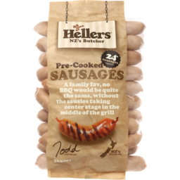 Photo of Hellers Sausages Pre-Cooked Prepacked 2kg