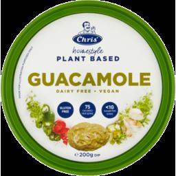 Photo of Chris Plant Based Guacamole 200gm