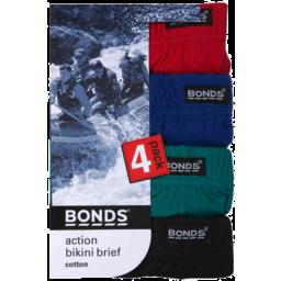 Photo of Bonds Brief Men Action 4pk