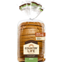 Photo of Country Life Bakery Gluten Free Bread White 400g