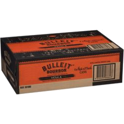 Photo of Bulleit Bourbon & Cola 6% Cans