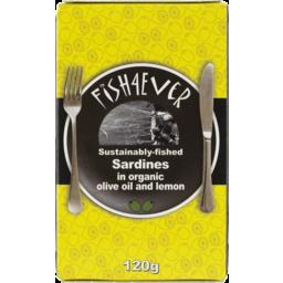 Photo of Fish 4 Ever Sardines in Olive Oil & Lemon