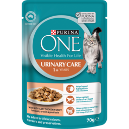 Photo of Purina One Adult Urinary Care With Chicken In Gravy Wet Cat Food 70g