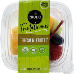 Photo of Crudo Fruitalicious Fresh N Fruity 275g
