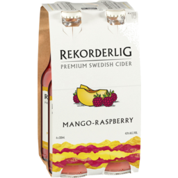 Photo of Rekorderlig Mango-Raspberry Cider Stubbies