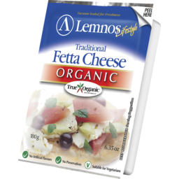 Photo of Lemnos Fetta Cheese Organic 180g