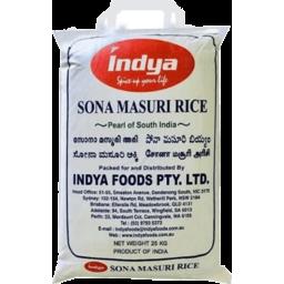 Photo of Sona Masoori Rice - Indya 25kg