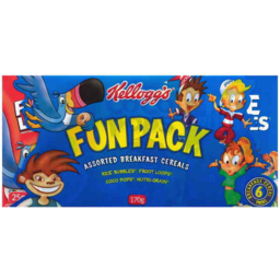Photo of Kellogg's Tri Fun Pack